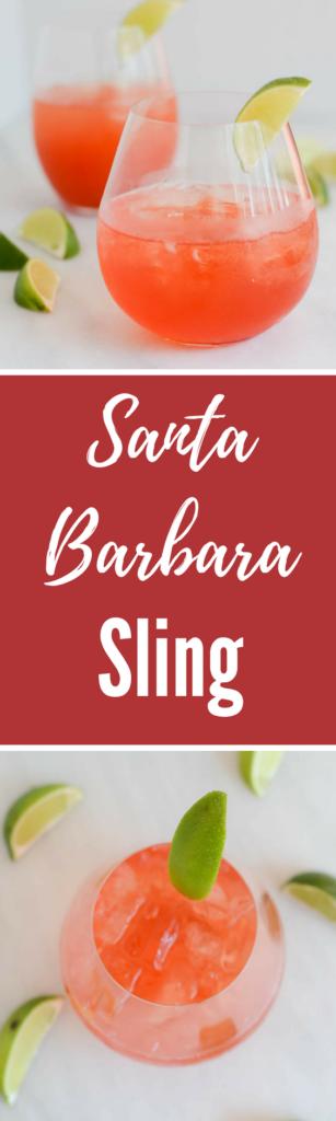 Santa Barbara Sling | CaliGirlCooking.com