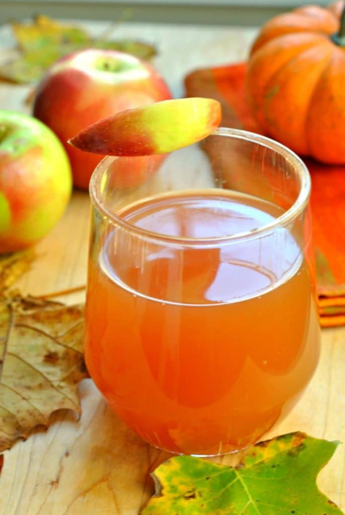 Crockpot Apple Cider by Go Eat and Repeat | 22 Quick & Easy Halloween Recipes at CaliGirlCooking.com