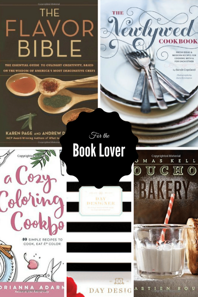 For the Book Lover | 2016 Holiday Gift Guide on CaliGirlCooking.com
