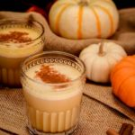 This Pumpkin Spice Mudslide turns a retro drink into a tasty fall cocktail. The perfect addition to your Thanksgiving menu!