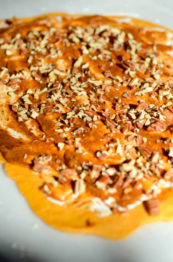 Sweet Potato Casserole Babka | CaliGirlCooking.com