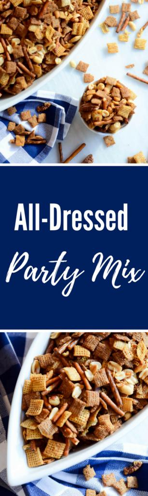 All-Dressed Party Mix | CaliGirlCooking.com