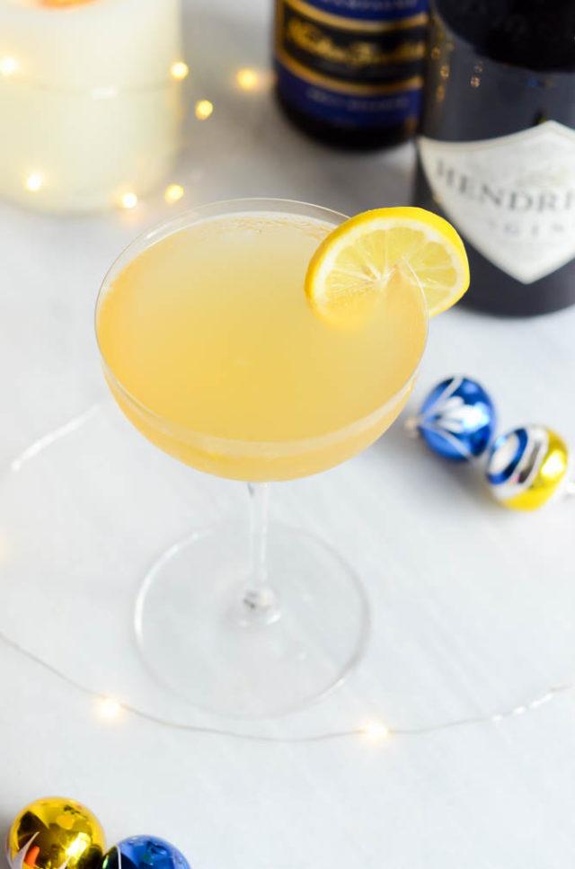 Citrus Vanilla Sparkler | CaliGirlCooking.com
