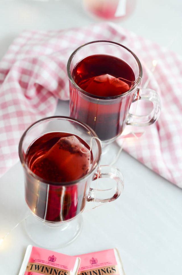 Elder-Berry Tea Cocktail | CaliGirlCooking.com