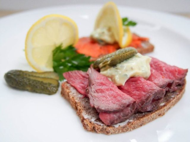 Danish Smorrebrod with Remoulade | 21 Recipes to Get Hygge With on CaliGirlCooking.com