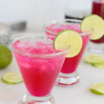 Prickly Pear Margarita | CaliGirlCooking.com