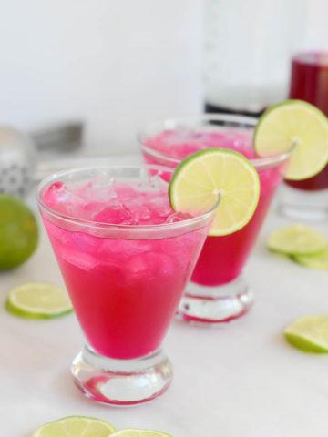 Prickly Pear Margarita | CaliGirlCooking.com