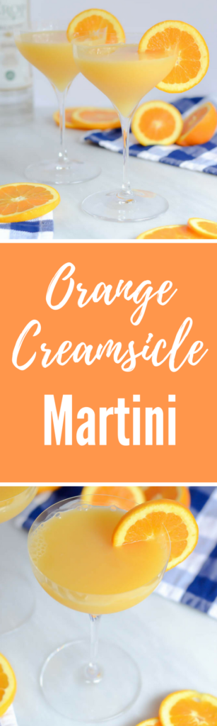 Orange Creamsicle Martini | CaliGirlCooking.com