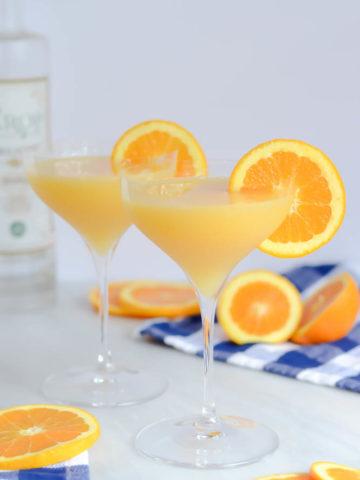 Orange Creamsicle Martini | CaliGirlCooking.com