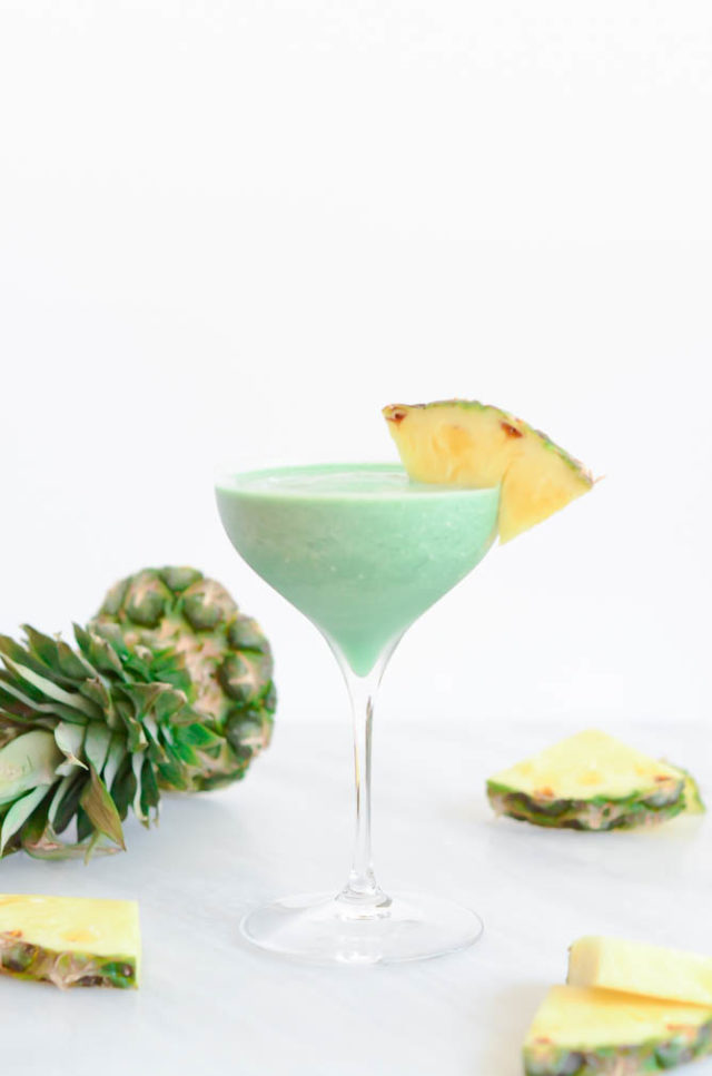 Superfood Pina Colada | CaliGirlCooking.com