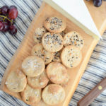 Homemade Whole Wheat Crackers: Two Ways! | CaliGirlCooking.com