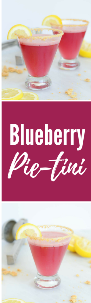 Blueberry Pie-tini | CaliGirlCooking.com