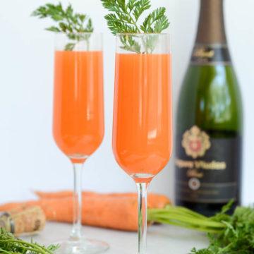 Carrot Mimosas   CaliGirlCooking.com