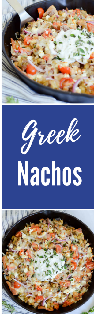 Greek Nachos | CaliGirlCooking.com