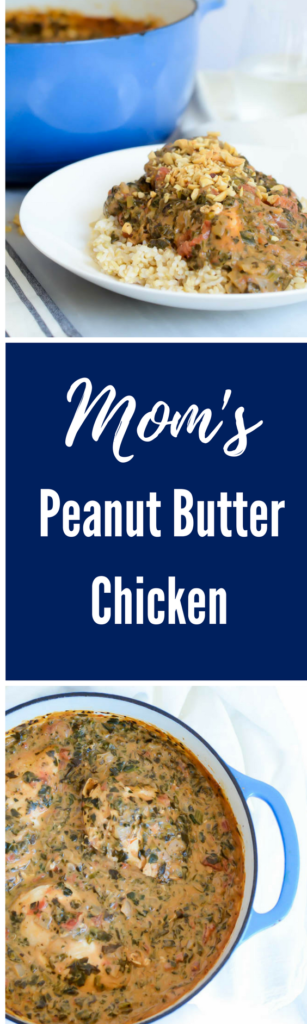 Mom's Peanut Butter Chicken | CaliGirlCooking.com