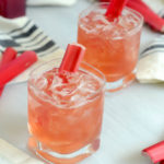 Rhubarb Old-Fashioned | CaliGirlCooking.com