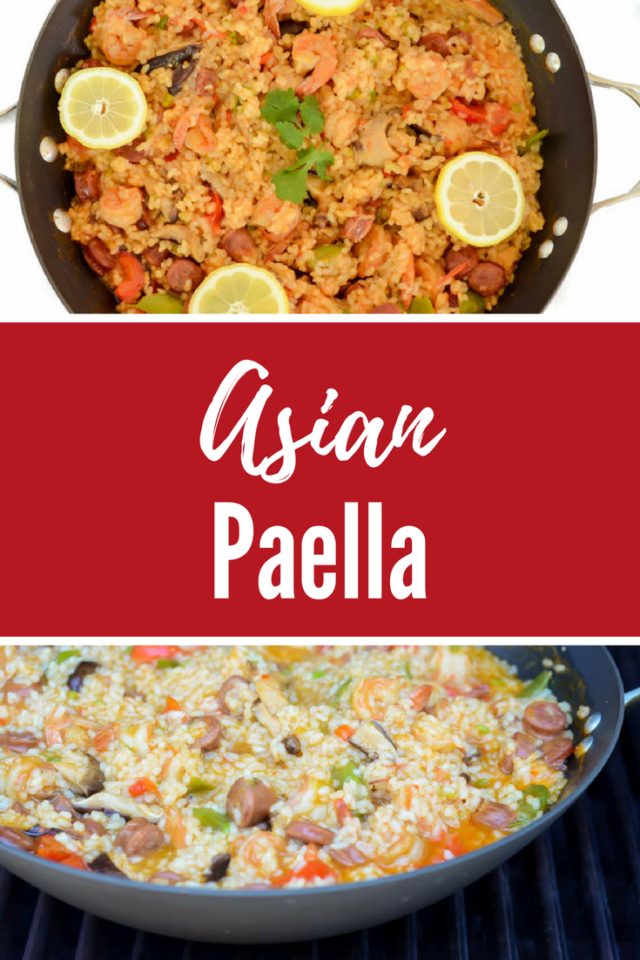Asian Paella | CaliGirlCooking.com