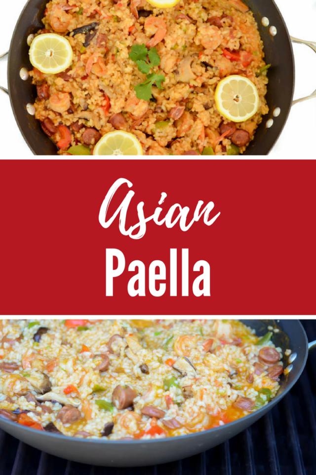 Asian Paella   CaliGirlCooking.com
