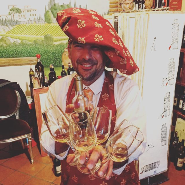 The owner of Accademia del Buon Gusto in Panzano, Italy is sure to entertain you as you taste through the wines of Chianti!
