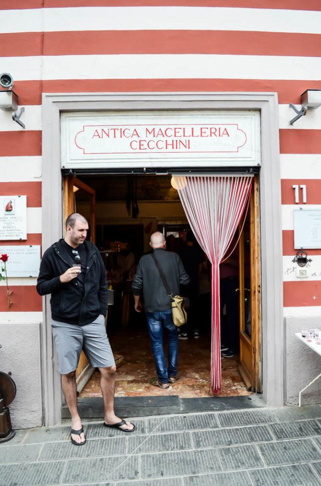 Antica Macelleria Cecchini - the best butcher in Panzano, Chianti, Italy!