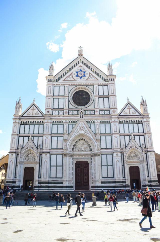 Chiesa di Santa Croce in Florence, Italy