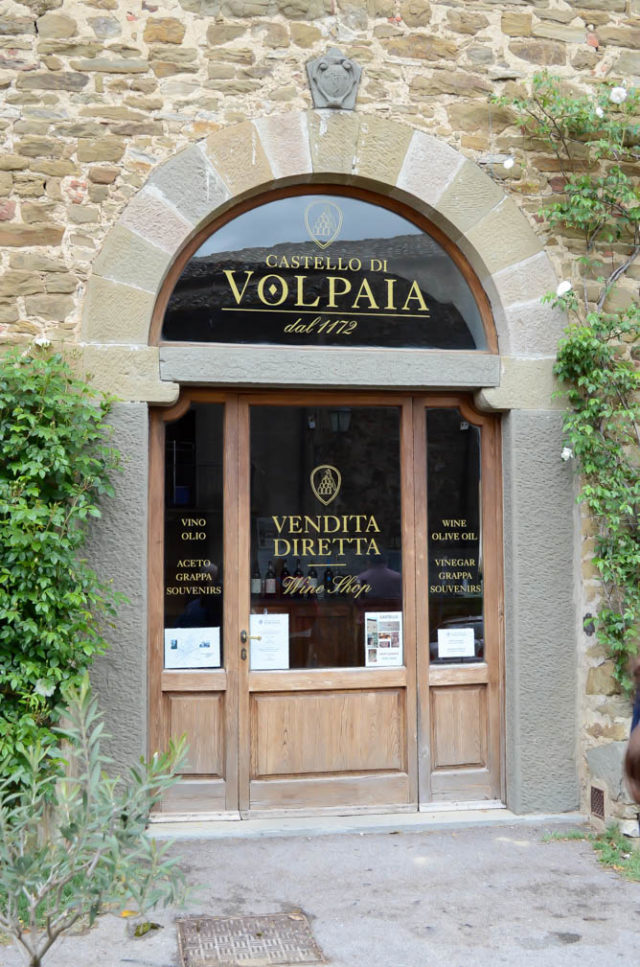 The well-known wine of Volpaia.