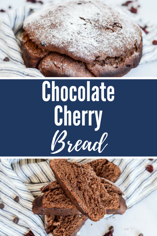 Chocolate Cherry Bread | CaliGirlCooking.com