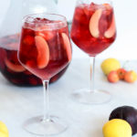 A big pitcher of Virgin Stone Fruit Sangria is all you need for your next summer get-together.