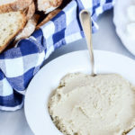 Roasted Eggplant White Bean Spread | CaliGirlCooking.com