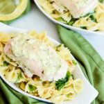 This Spinach Artichoke Dip Chicken is the perfect, easy weeknight dinner.