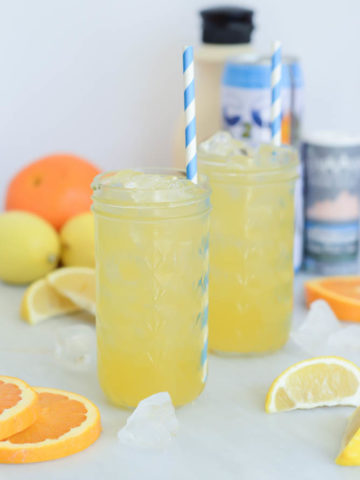 This Homemade Citrus Electrolyte Drink is a naturally sweetened alternative to all those sugary sports drinks out there.