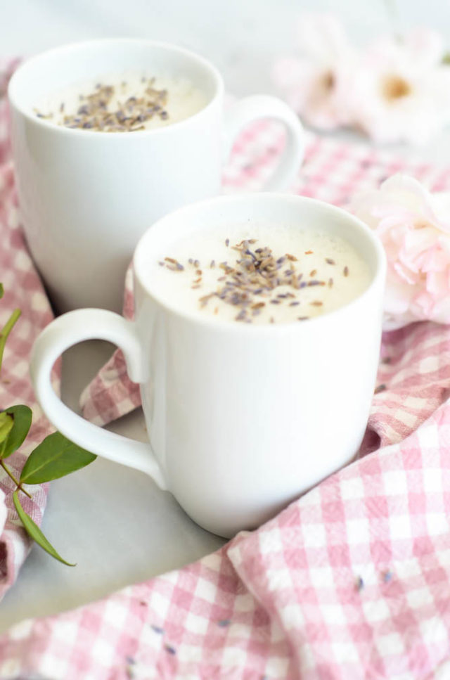 Warm Sleepytime Lavender Milk comes together quickly and easily for any after-dinner treat.