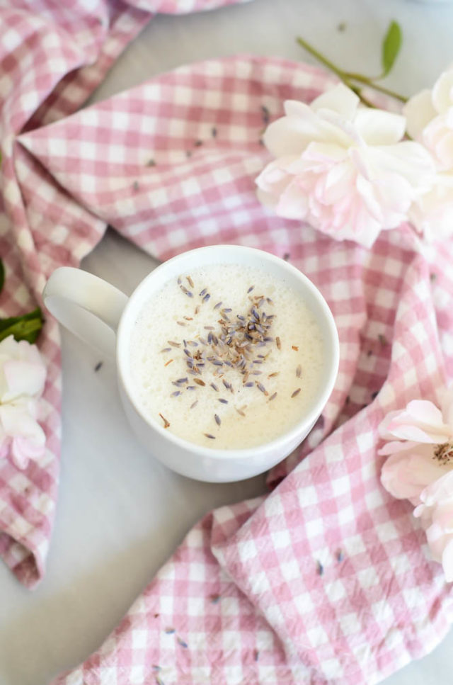 A warm mug of Sleepytime Lavender Milk will help give you a perfect night's sleep.
