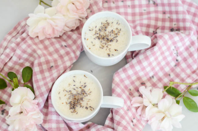 Sleepytime Lavender Milk is a healthy alternative to dessert.