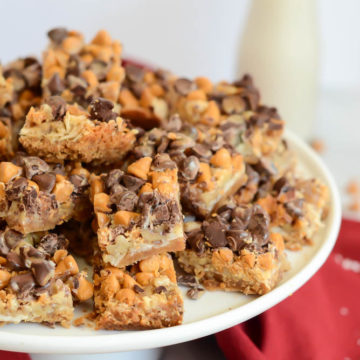 "These Chocolate, Butterscotch and Coconut ""Grutch"" Bars are a holiday favorite and are so easy to make!"
