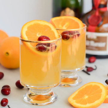This Sparkling Citrus Vanilla Punch is the perfect batch drink to serve a crowd!