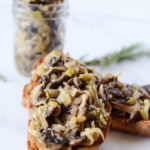 This Mixed Mushroom and Leek Bruschetta is perfect for everything from an elegant dinner party to a casual beach picnic.