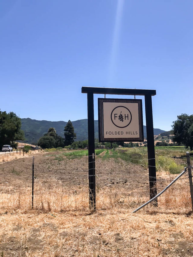 Folded Hills is a working farm, winery and historic home - a Central Coast treasure!