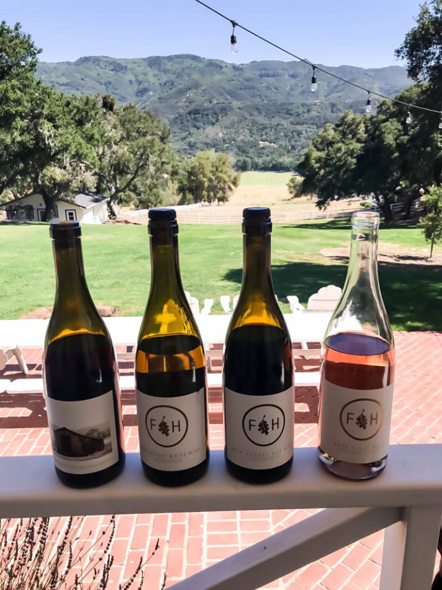 The wines of Folded Hills are all handcrafted by winemaker Angela Osborne.