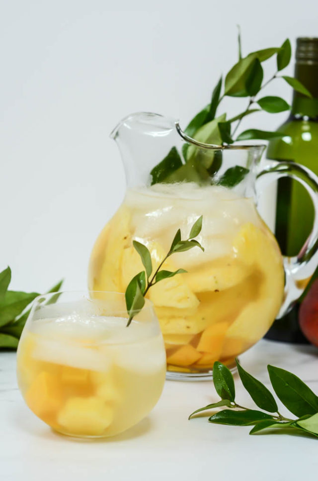 A great batch cocktail, this Tropical Sangria is perfect for your next cocktail party.