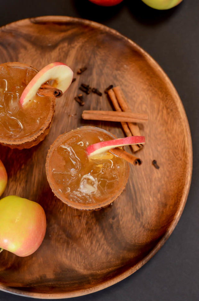 The Maple Apple Old Fashioned adds your favorite fall flavors to the classic cocktail.
