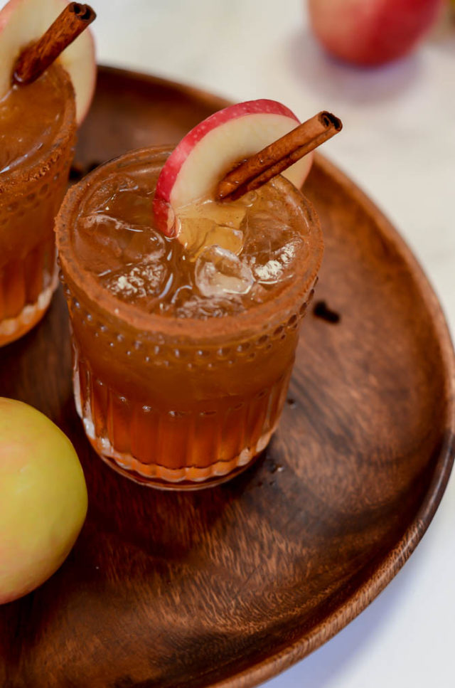 If you like Old Fashioneds, this Maple Apple Old Fashioned will be your go-to fall cocktail this season!
