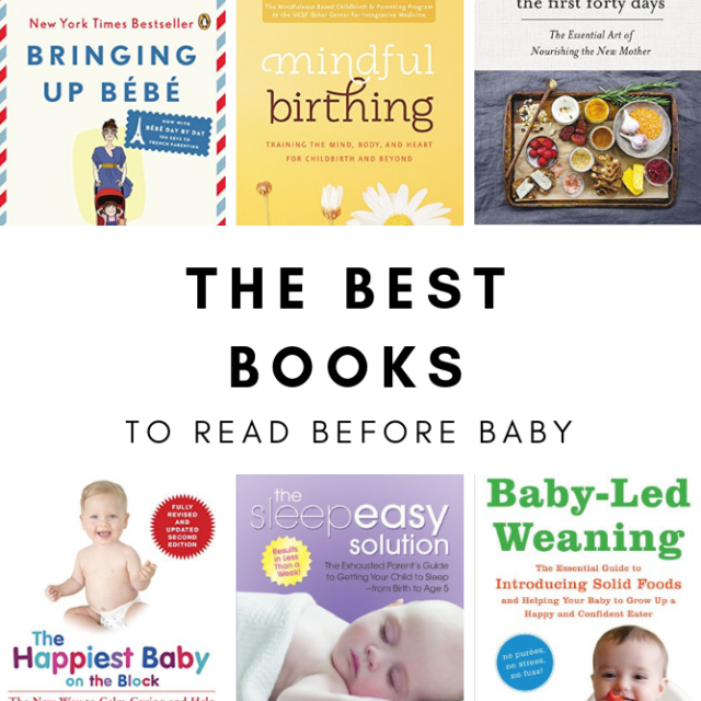The most helpful books to read before baby arrives!