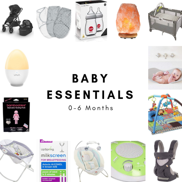 A list of what we considered to be essential baby products during the first 6 months. The perfect gifts to add to your baby registry or Christmas list!