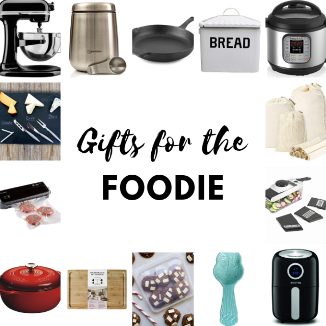 The ultimate holiday gift guide for any foodie in your life. There's something for every budget and so many Black Friday deals!