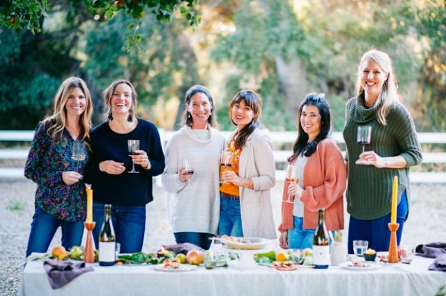 A lovely Harvest Dinner at Folded Hills Winery and Farmstead in Santa Barbara, CA.