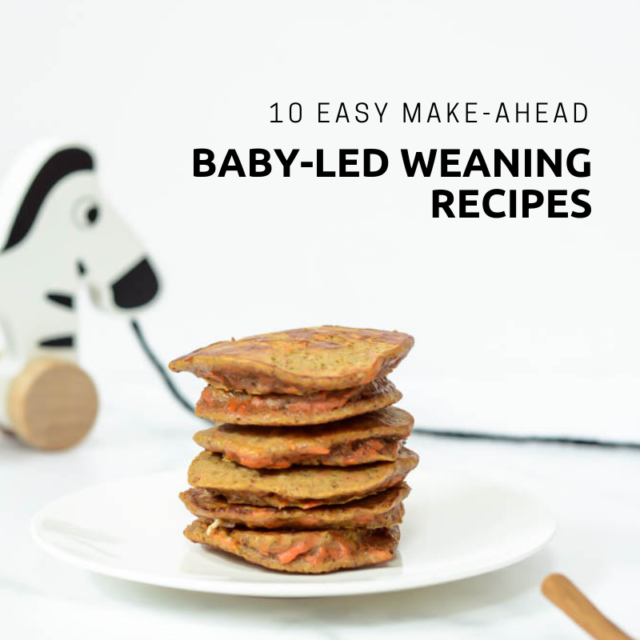 These easy, make-ahead baby-led weaning recipes are freezer-friendly and perfect for meal prep. Healthy meals for your babe in minutes!
