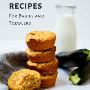 A collection of 30 freezer-friendly recipes that your babies and toddlers will love. They won't even be able to tell they're healthy!