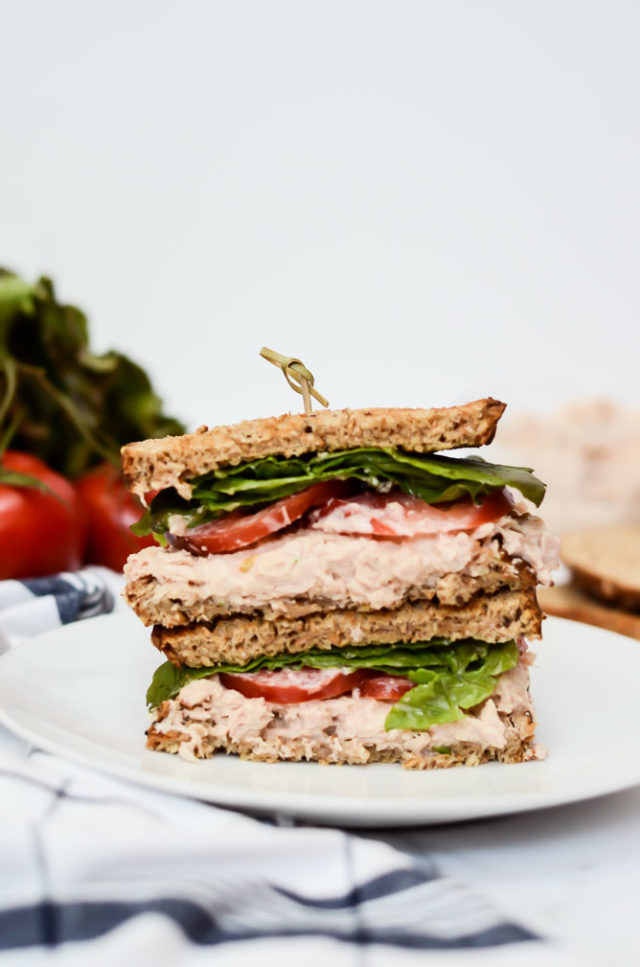 Quick And Healthy Tuna Salad Sandwiches Caligirl Cooking