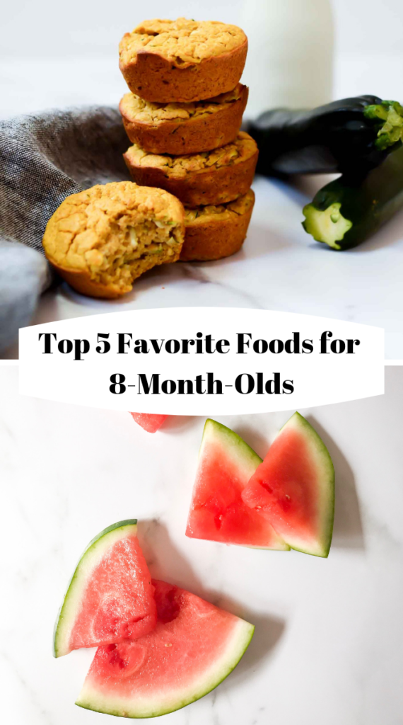 Title graphic for Top 5 Favorite Foods for 8-Month-Olds